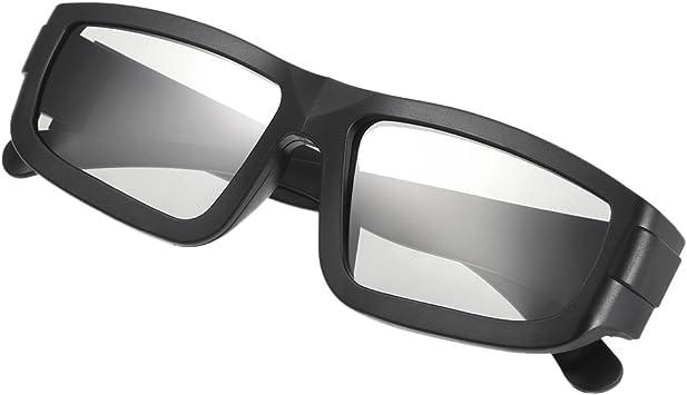 Docooler Gafas 3D, Lentes Pasivas de Polarización Circular, Gafas 3D para TV Polarizada Cines Real D 3D para Sony Panasonic: Amazon.es: Electrónica