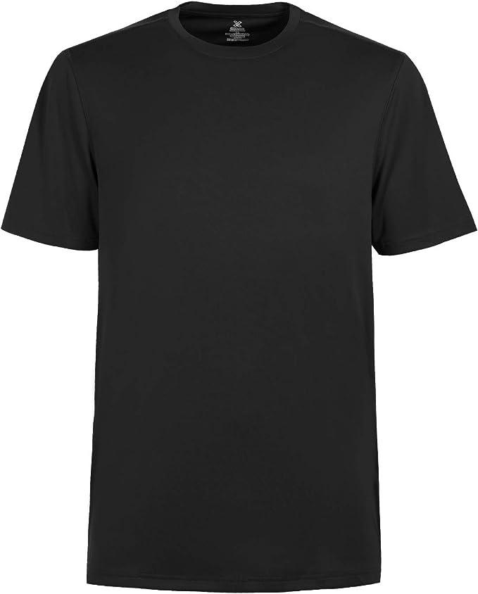 TIHEEN Men's Moisture Wicking Lightweight Cool Athletic Short Sleeve T-Shirt