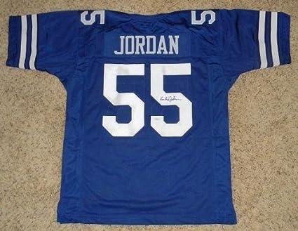 pretty nice 195fe c3d79 Amazon.com: Lee Roy Jordan Autographed Signed Dallas Cowboys ...