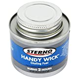 TableTop king 10104 2 Hour Handy Wick Chafing Fuel - 48/Case