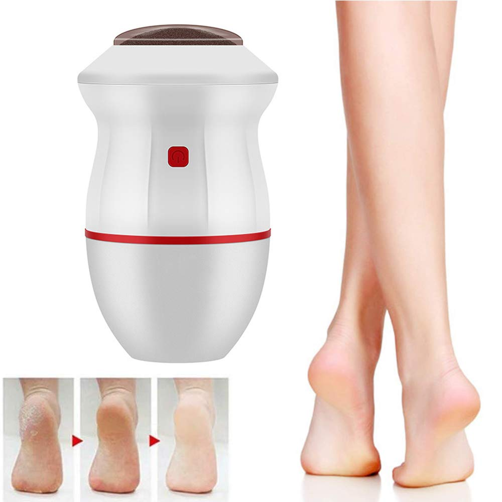MEETWAY Portable Electric Vacuum Adsorption Foot Grinder USB Electronic Foot File Pedicure Tools Dual-Speed Callus…