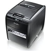 Swingline Paper Shredder, Auto Feed, 80 Sheet Capacity, Cross-Cut Refurbished (Certified Refurbished)