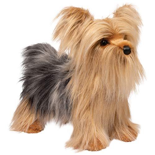 Douglas Plush Brenton Yorkie Stuffed Animal (Dog That Looks Like A Big Yorkie)