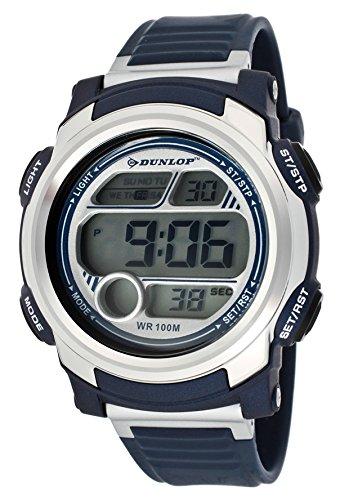 Dunlop Reloj Digital para Hombre de Automático con Correa en Caucho DUN-195-G03: Amazon.es: Relojes