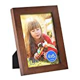 RPJC 4x6 Picture Frame Made of Solid Wood High Definition Glass for Tab Deal (Small Image)