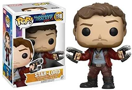 Funko - Star Lord figura de vinilo, colección de POP, seria Guardians of the Galaxy 2 (12784), 1 unidad, modelo surtido