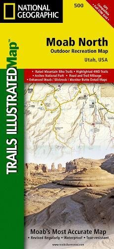 Moab North (National Geographic Trails Illustrated Map)