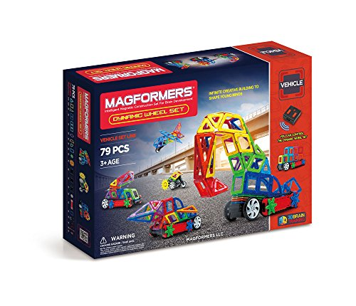 Magformers Vehicles Dynamic Wheel 79 piece