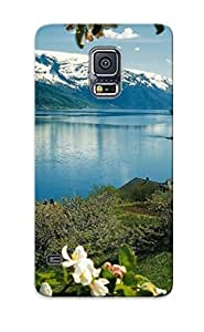 Podiumjiwrp Tpu Case For Galaxy S5 With Hardangerfjord, Norway , Nice Case For Thanksgiving Day's Gift