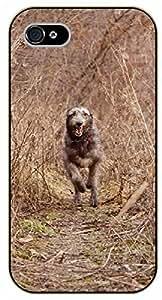 iPhone 5 / 5s Running day - black plastic case / dog, animals, dogs