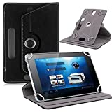 For 7 inch Android Tablet PC, Mchoice Universal Leather Flip Case Cover for 7 inch Android Tablet PC (Black)