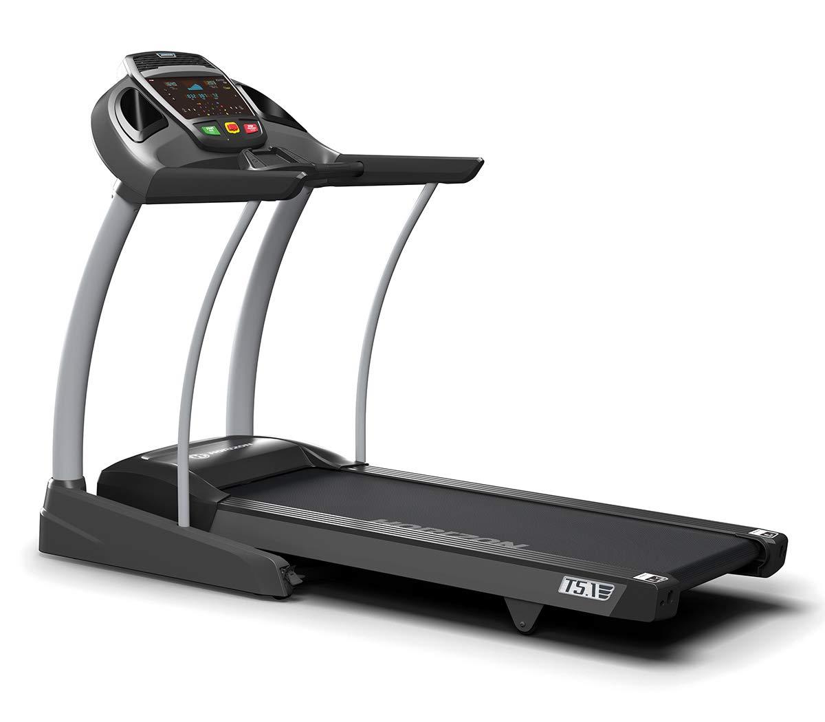 Horizon Fitness Bieżnia Elite T5.1 Vi: Amazon.es: Deportes y aire ...