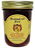 MeadowCroft Farm All Natural Cherry Preserves - 2 PACK - Delicious Fresh Old Fashioned Sour Cherry Preserves