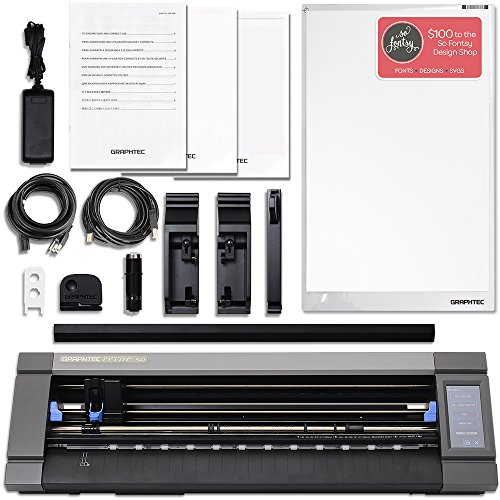 Graphtec CE-50 Lite 20 Inch Desktop Vinyl Cutter with $700 in Software & Warranty