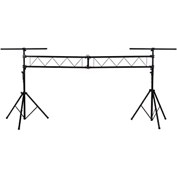 diy portable stage small stage lighting truss. Safstar Pro Audio Mobile DJ Portable Stage Light Truss System Stands  Lighting Fixture W/ 2 T-bars Diy Portable Stage Small Lighting Truss