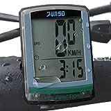 OutdoorMaster JUNSD Bike Computer, Waterproof Multifunction Cycling Speedometer (Grey)