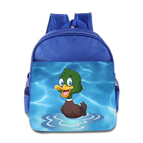 [KIDDOS Infant Toddler Kids Duck Backpack Satchel School Book Bag, RoyalBlue] (Blues Clues Costumes Toddler)