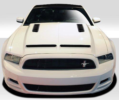 (Duraflex ED-ELC-169 GT500 Hood - I Piece Body Kit - Fits Ford Mustang 2013-2014)
