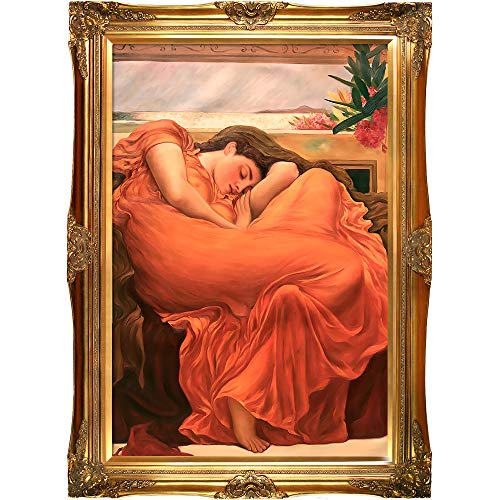 La Pastiche Flaming June Framed Oil Painting, 44