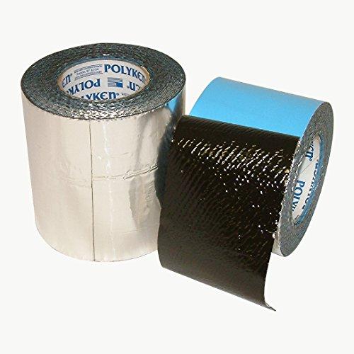 Nashua 682737 360-45 Heavy Duty FoilMastic Butyl Rubber Tape: 6'' x 30', Silver by Nashua (Image #1)