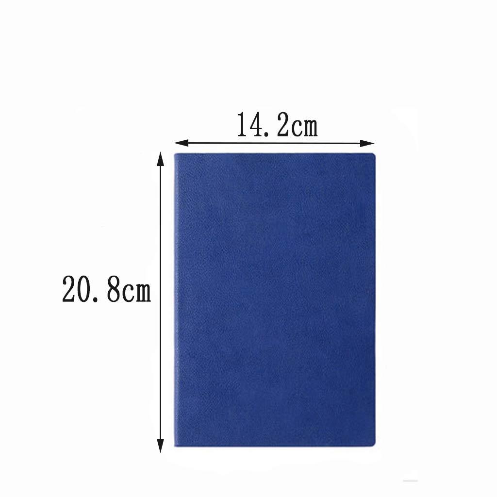 Checkerot Notebook, A5 Handbuch Verdicktes Notizbuch aus weichem weichem weichem Leder, 5.7x8.4in, Braun, Grün, Rot, Blau,b B07G7PS4RZ | Schnelle Lieferung  | Niedriger Preis  | Qualifizierte Herstellung  910b56
