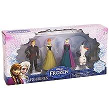 Frozen Anna, Elsa, Kristoff and Olaf Figurines