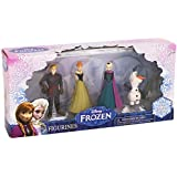 Beverly Hills Teddy Bear Company Frozen Olaf, Anna, Elsa, Kristoff Figure (4-Pack)