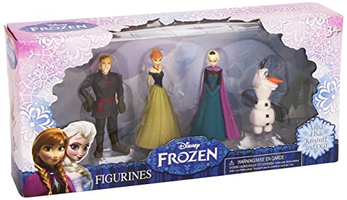 Beverly Hills Teddy Bear Company Frozen Olaf, Anna, Elsa, Kristoff Figure (4-Pack) from Beverly Hills Teddy Bear