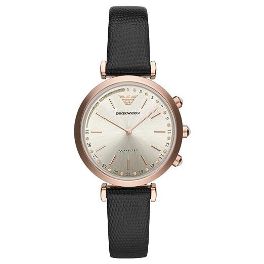 Risultati immagini per Emporio Armani Smartwatch Donna con Cinturino in Pelle ART3027