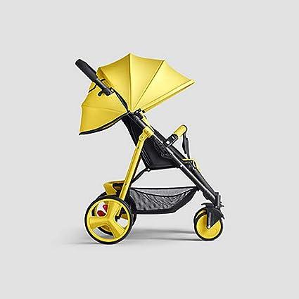 Ligera Solo Cochecitos, Plegable Compacto Carro del bebé ...