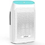 Afloia Electric Dehumidifier for Home Bathroom 2000ML(68 oz) Water Tank,Portable