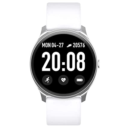 Kiarsan KW19 Waterproof IP67 Blood Pressure Heart Rate Monitor Sport Smartwatch