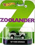 "'67 Ford Bronco ""ZOOLANDER"" Hot Wheels 2014 Retro Series 1/64 Die Cast Vehicle"