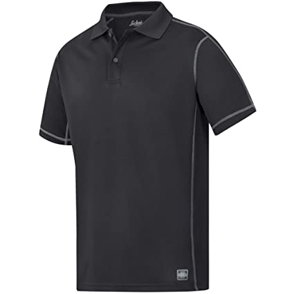 Snickers 27110400003 Polo Shirt A.V.S Size XS in Black