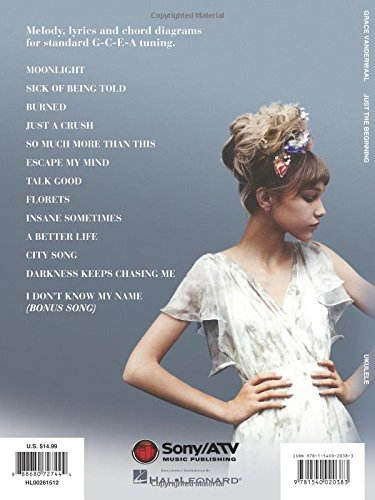 Amazon com: Grace Vanderwaal - Just the Beginning: Ukulele