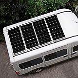 DOKIO 100 Watts 12 Volts Monocrystalline Solar Panel Suitable for RV