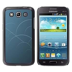 All Phone Most Case / Oferta Especial Duro Teléfono Inteligente PC Cáscara Funda Cubierta de proteccion Caso / Hard Case Samsung Galaxy Win I8550 // Blue Circles