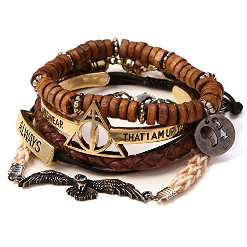 Harry Potter 5 Piece Arm Party Bracelet Set