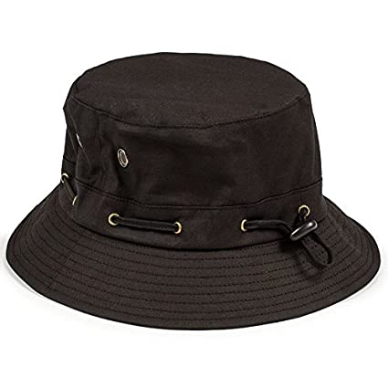 Amazon.com   Grizzly Bear Trap Bucket Hat Black by Grizzly Grip Tape    Sports   Outdoors 6f531127034