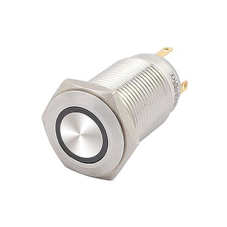 Amazon.com: UL AC 220 voltios Botón pulsador ...