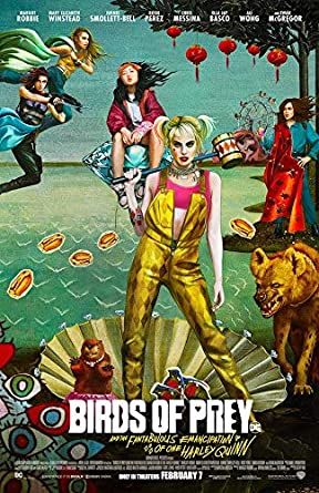 Amazon Com Harley Quinn Birds Of Prey Movie 2020 Promotional Poster 11 1 2 X 17 New Entertainment Collectibles