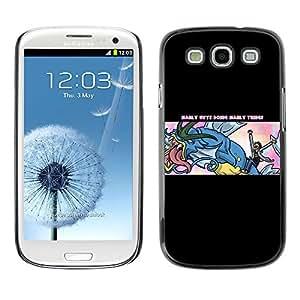 SKCASE Center / Funda Carcasa - Manly Cosas;;;;;;;; - Samsung Galaxy S3