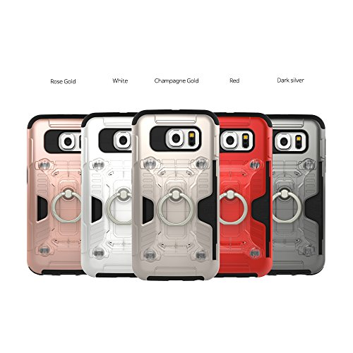 Phonefoam Fury 3 Cards Snap Ring Case for Samsung Galaxy S6 - Import