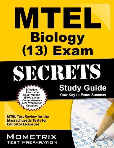 MTEL Biology (13) Exam Secrets Study Guide: MTEL Test Review for the Massachusetts Tests for Educator Licensure by MTEL Exam Secrets Test Prep Team (2013-02-14) Paperback