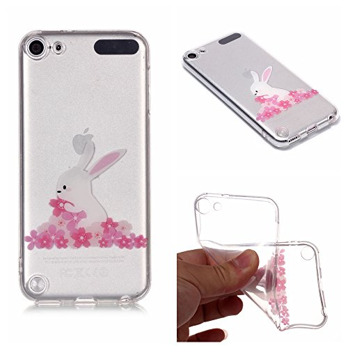 Housse Touch Beau Apple 6 Fleur Sycode Coque 5 5 Touch 6 iPod Silicone Etui Apple iPod for S for qgwRF
