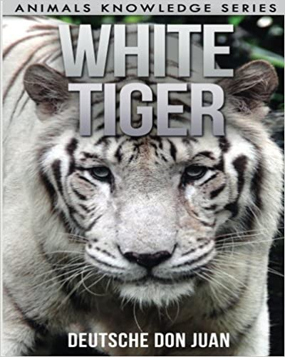 Book White Tiger: Beautiful Pictures & Interesting Facts Children Book About White Tigers