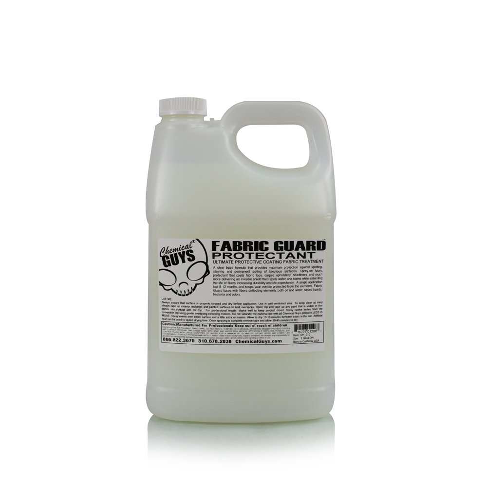 Chemical Guys SPI_210 Fabric Guard Interior Protector Shield (1 Gal)