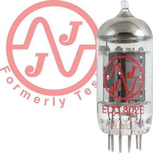 JJ ECC802 / 12AU7 Long Plate Vacuum Tube by JJ Electronic