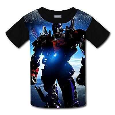 WAAANZI Boys' Transformers Short Sleeve Tshirts - Youth