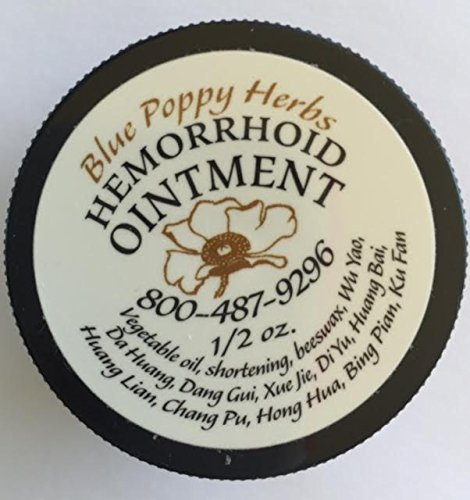 Poppy Cream (Hemorrhoid Ointment 1/2 Oz By Blue Poppy)